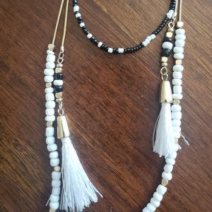 Express Mid-Length Tassel Necklace